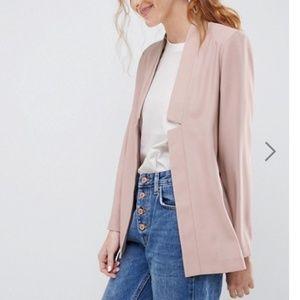 ASOS Design tailored blush blazer